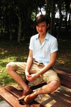 g2000 shirt - Topman belt - vintage pants - Primavera shoes