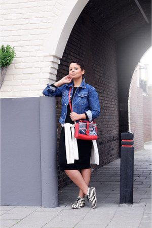 Maruti boots - asos dress - Diesel jacket - Accessorize bag