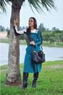 Jessica-simpson-boots-michael-kors-bag-metaphor-pants-methapor-top