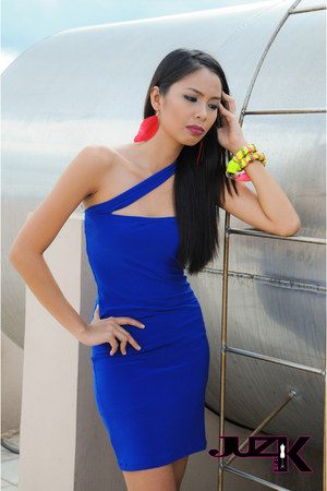 blue JUZ FUR K dress