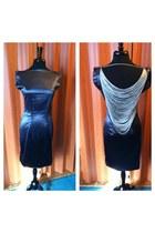 silver handmade by me dress
