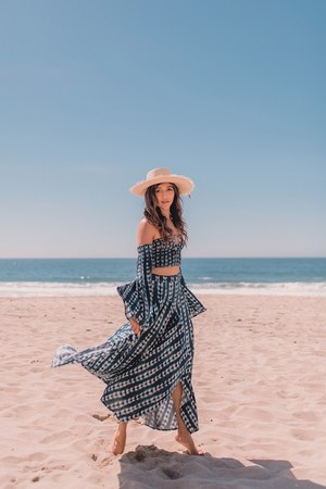 navy TORI PRAVER skirt