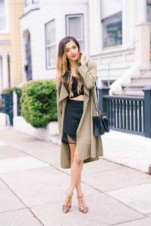 brown Lulus heels