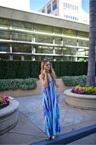 blue PILY Q dress