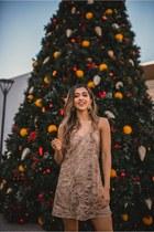 gold Somedays Lovin dress