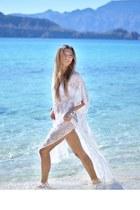 white le salty label dress