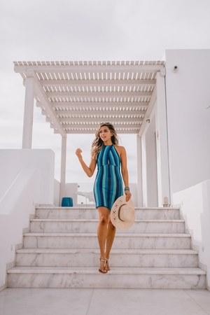 blue Revolve dress