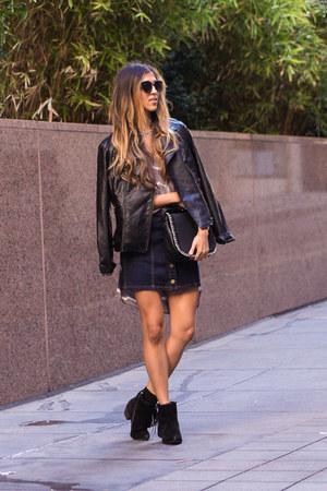 black Lulus boots