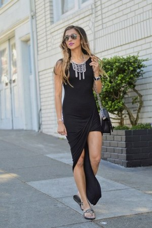 black Delacy dress