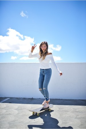 white Urban Outfitters top