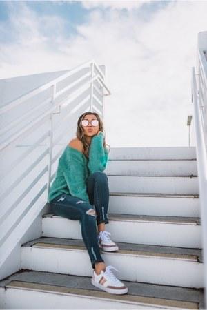 aquamarine Somedays Lovin sweater