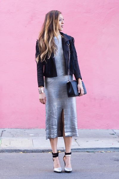 silver MinkPink dress