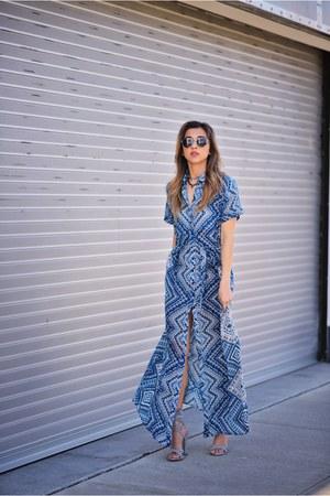 blue Tolani dress