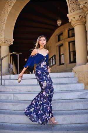 blue Talulah dress