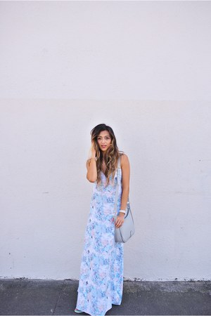 light blue Tavik dress