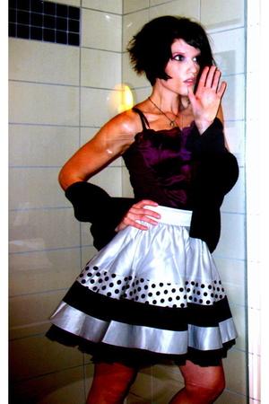 anne taylor loft top - skirt - sweater
