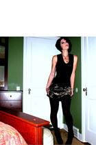H&M top - old express skirt