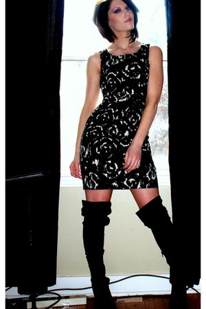 black The Limited dress - black Urbanogcom boots