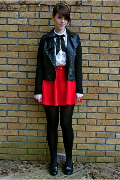 Red Leather Jacket Forever 21 Faux Leather Forever 21