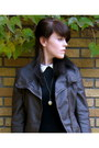 Asos-dress-leather-forever21-jacket