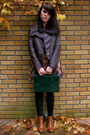Plaid-asos-dress-chelsea-river-island-boots-faux-leather-forever-21-jacket