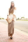 Oversized-sweater-maxi-skirt-forever-21-skirt