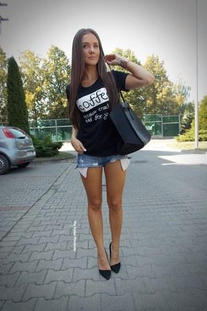 black Sheinsidecom bag