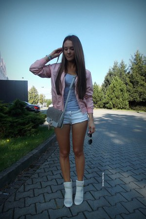 light pink Sheinsidecom jacket