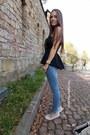 Black-zara-shirt