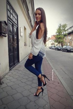 navy Romwecom jeans