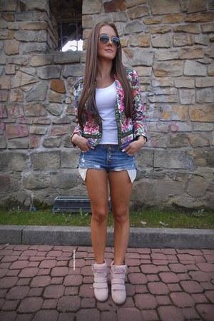 bubble gum zaful jacket
