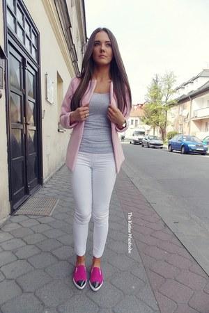light pink Sheinsidecom jacket