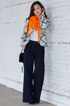 Express shirt - Bruno Magli bag - H&M pants - H by Halston heels - H&M belt