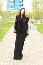 black İpekyol jacket - black hm skirt