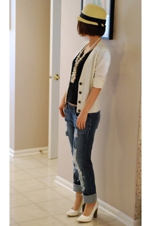 banana republic - H&M t-shirt - Forever21 jeans - Wet Seal