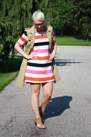 H&M dress - H&M coat