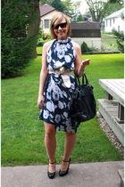 dress - JLo shoes - Forever 21 sunglasses - Forever 21 bag