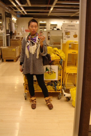 See by Chloe scarf - Zara top - VW shoes