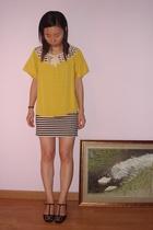 31 phillip lim blouse - Izzue dress - Chanel shoes