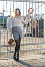 Heather-gray-wrap-yoins-skirt