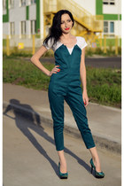dark green sammydress romper - sammydress ring