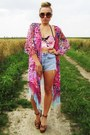 Love-label-cardigan-h-m-sandals-river-island-swimwear