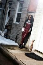 Zara boots - H&M jacket - Forever 21 top - boutique jumper