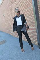 H&M jacket - H&M pants - Steve Madden heels