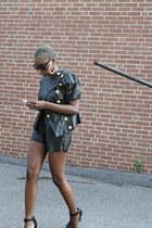 Forever 21 jacket - Sheinside shorts - zeroUV sunglasses