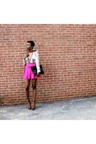 Forever 21 skirt - Prada heels