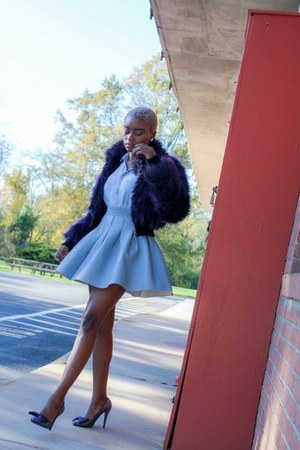 Betsey Johnson coat - H&M skirt - Kurt Geiger heels