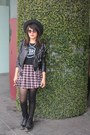 Dr-martens-boots-boots-vegan-leather-nasty-gal-jacket-skirt
