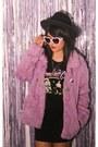 Furby-fur-coat-forever-21-hat-shirt