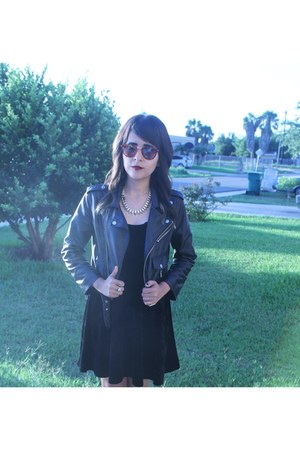 vegan leather Nasty Gal jacket